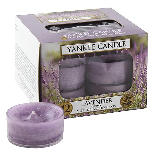 Yankee Candle - čajové svíčky - Lavender