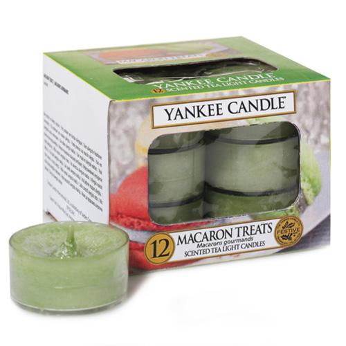 Yankee Candle - čajové svíčky - Macaron Treats