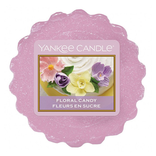 Yankee Candle - vonný vosk - Floral Candy