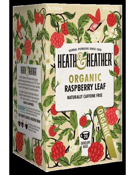 Heath&Heather BIO čaj Malinový šálek (20 sáčků)