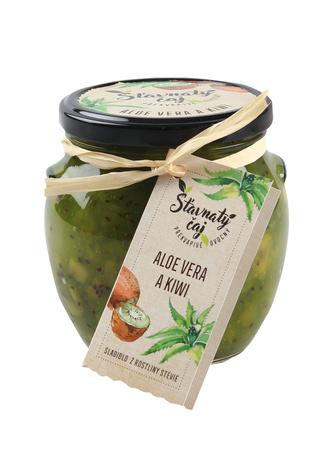 Šťavnatý čaj aloe vera & kiwi 520 ml