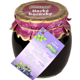 Horké ovoce - borůvky 520 ml