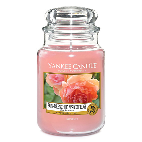 Yankee Candle - Sun - Drenched Apricot Rose 623g