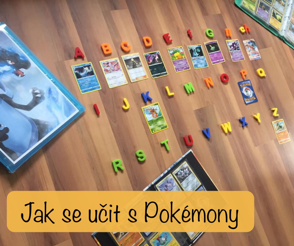 Jak se učit s Pokémony