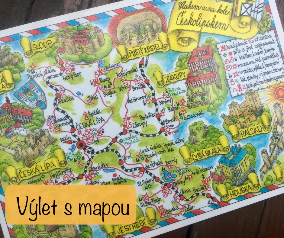 Výlet s mapou