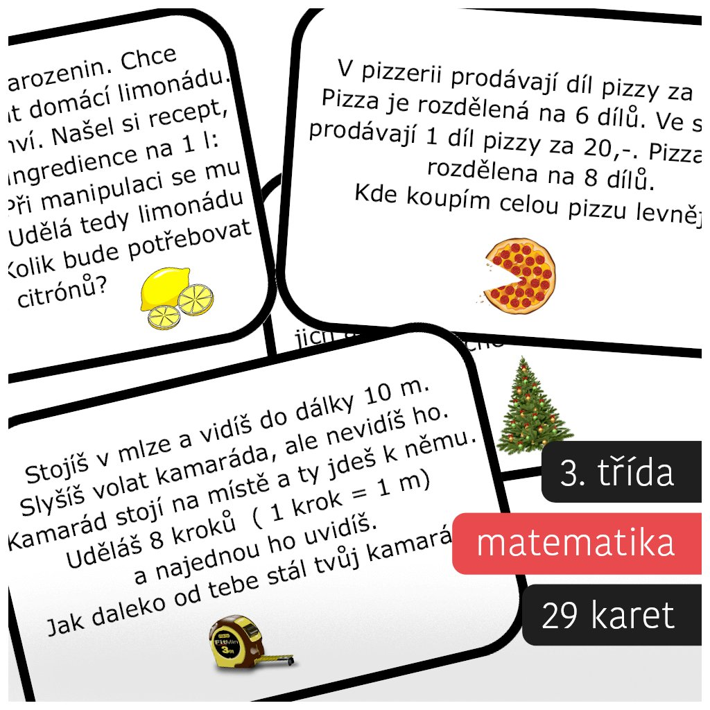 slovni ulohy 3 trida