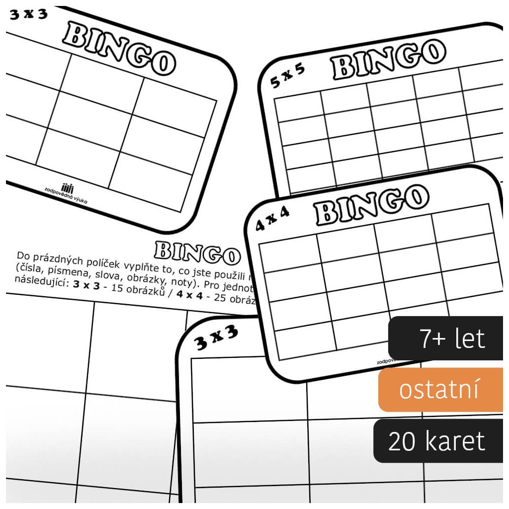 bingo sablony