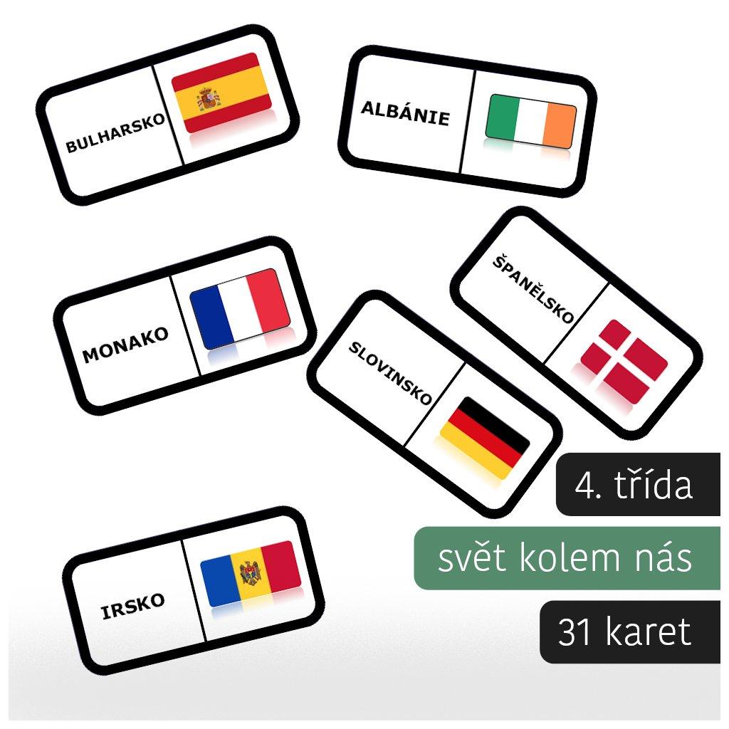 domino vlajky