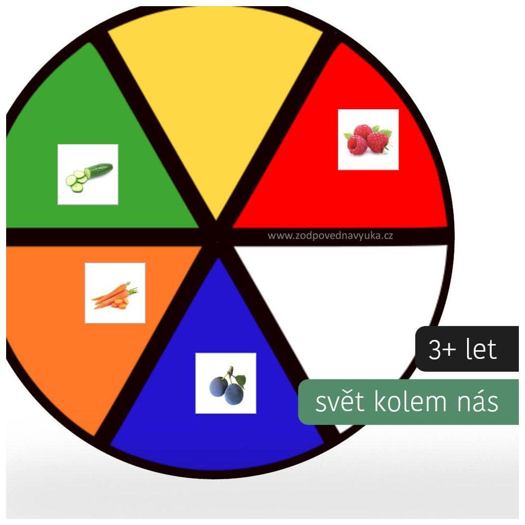 kruh barvy