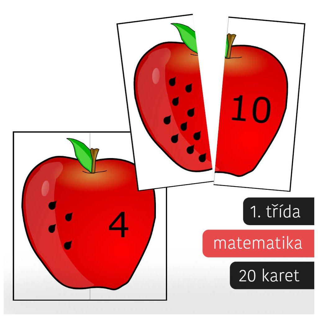 puzzle jablka