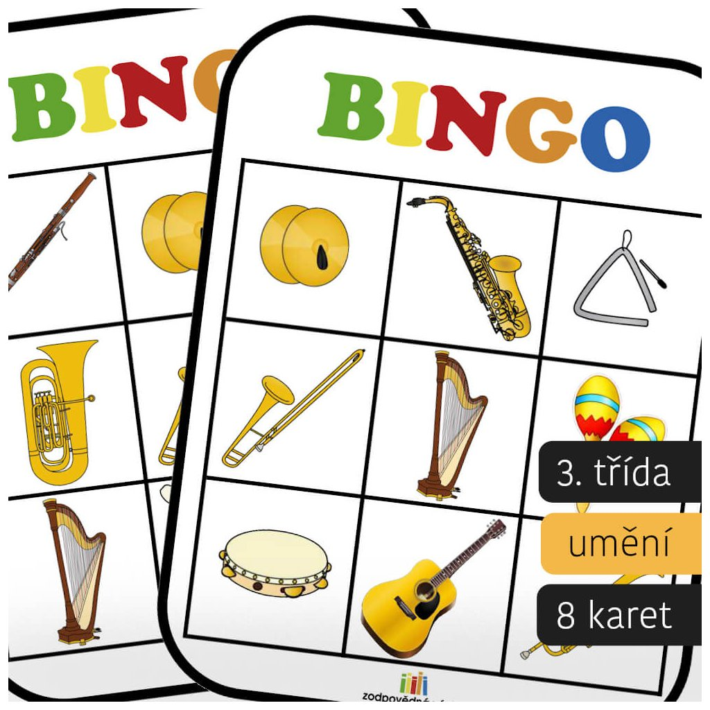 bingo hudebni nastroje