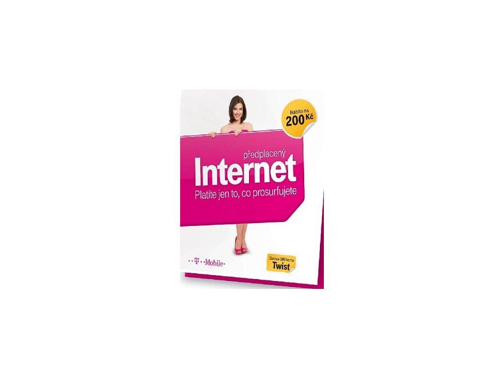 t mobile twist online internet sim s kreditem 200 kc i141664