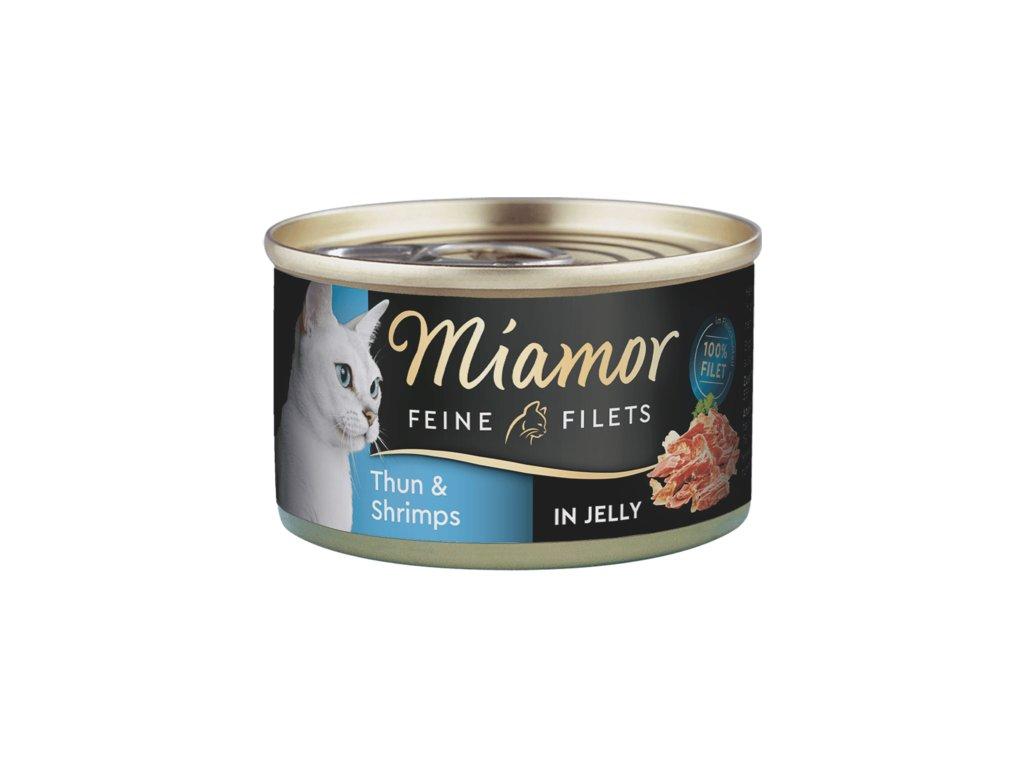 Konzerva MIAMOR Filet tuňák + krevety v želé 100g