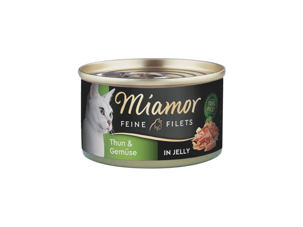 Konzerva MIAMOR Filet tuňák + zelenina v želé 100g