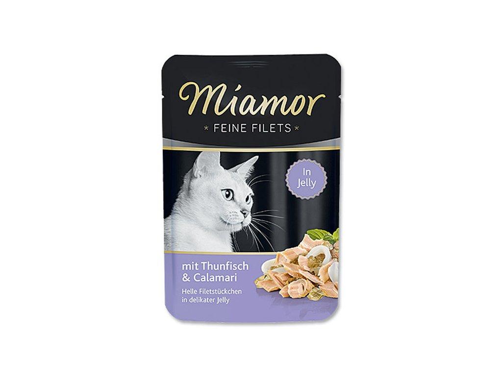 Kapsička MIAMOR Filet tuňák + kalamáry 100 g