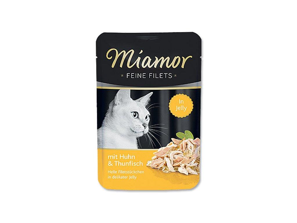 Kapsička MIAMOR Filet kuře + tuňák 100 g