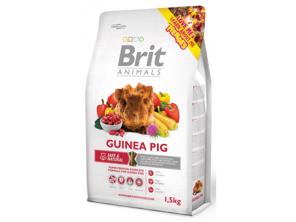 brit animals guinea pig complete 1 5kg original