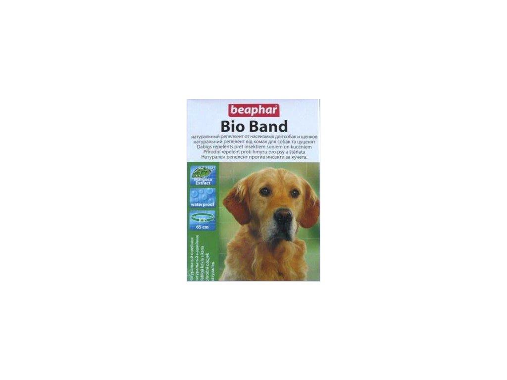 Obojek BEAPHAR antiparazitní Bio Band pes 65 cm