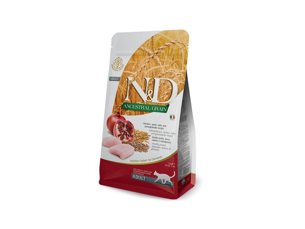 N&D LG CAT Adult Chicken & Pomegranate