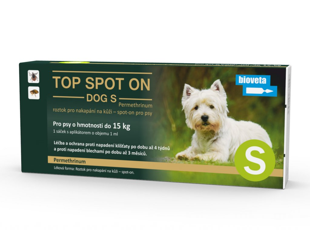 top spot on dog s 1x1 ml (mala plemena)