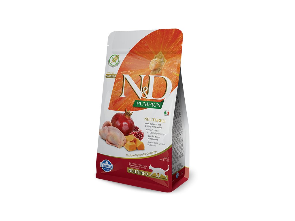 N&D Pumpkin CAT NEUTERED Quail & Pomegranate