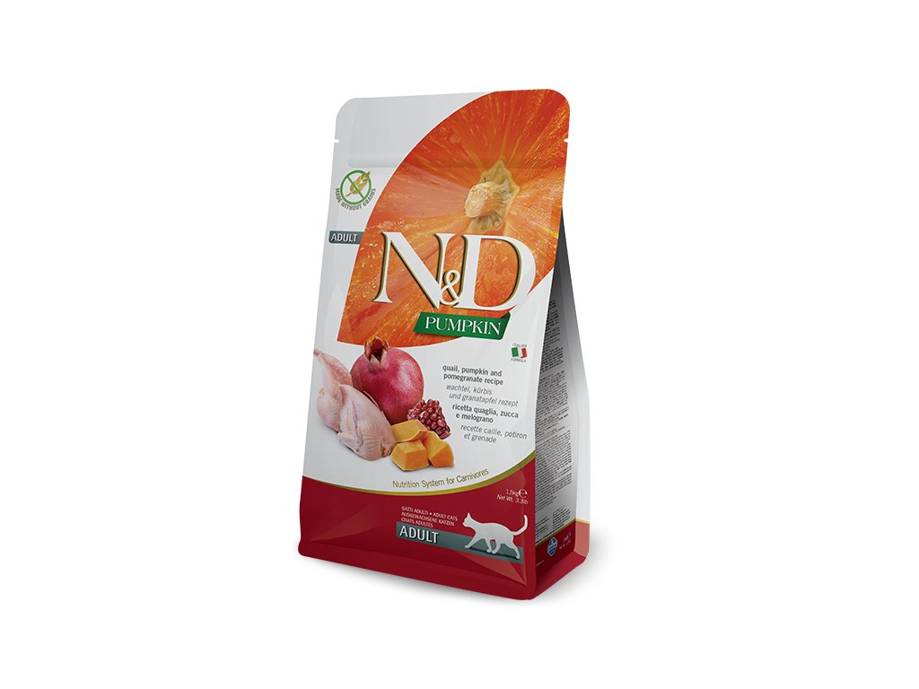 N&D Pumpkin CAT Quail & Pomegranate