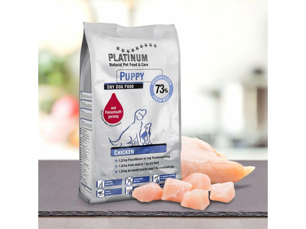 Platinum Natural Puppy Chicken - KUŘECÍ PRO ŠTĚŇATA