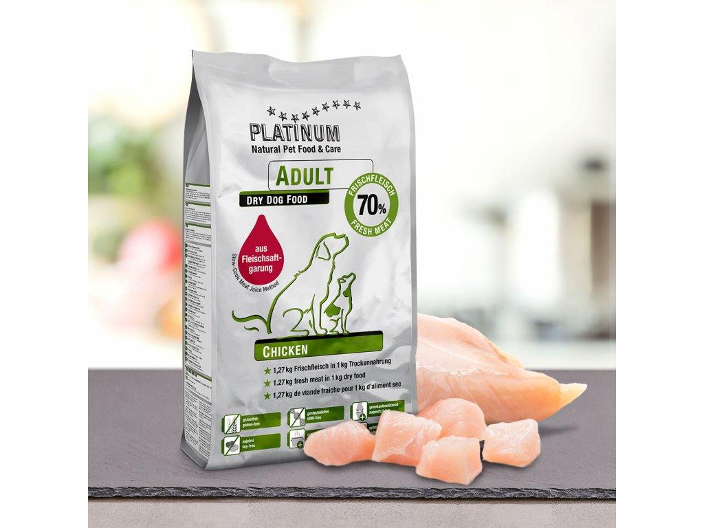 Platinum Natural Adult Chicken - KUŘECÍ