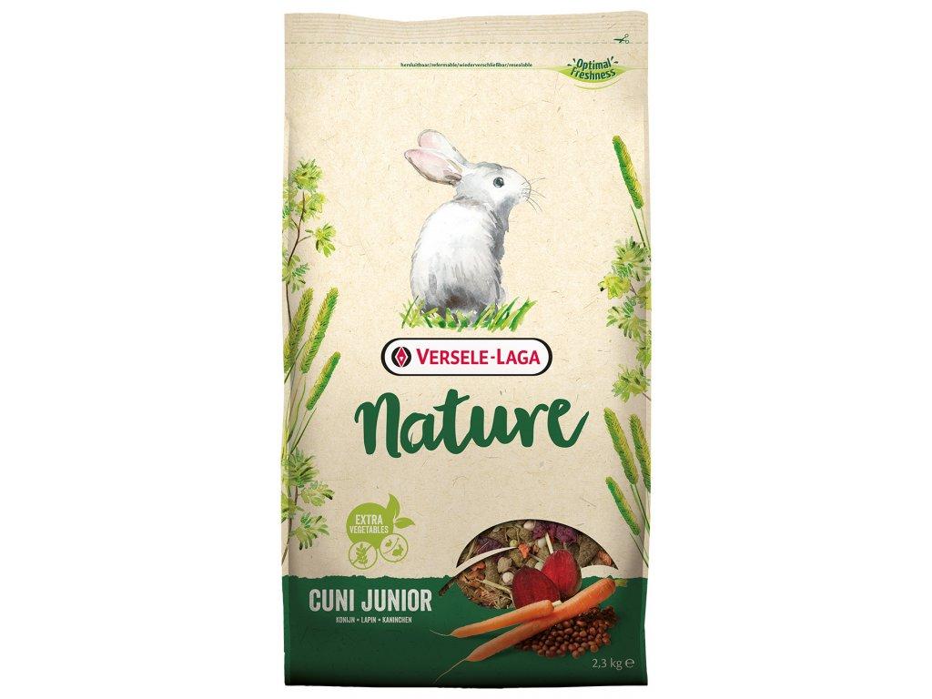 krmivo nature cuni junior pro kraliky 2 3kg original