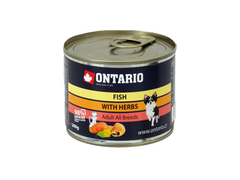 Konzerva Ontario Multi Fish and Salmon Oil 200g