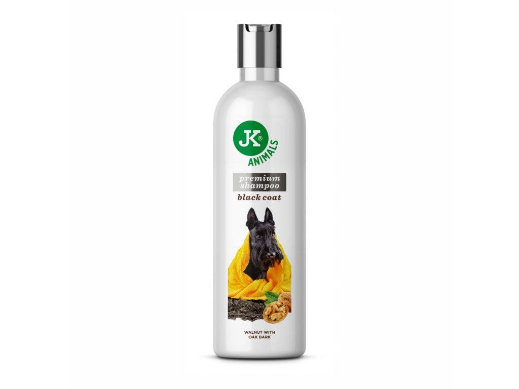 Šampon pro tmavou srst se zjemňujícími účinky
