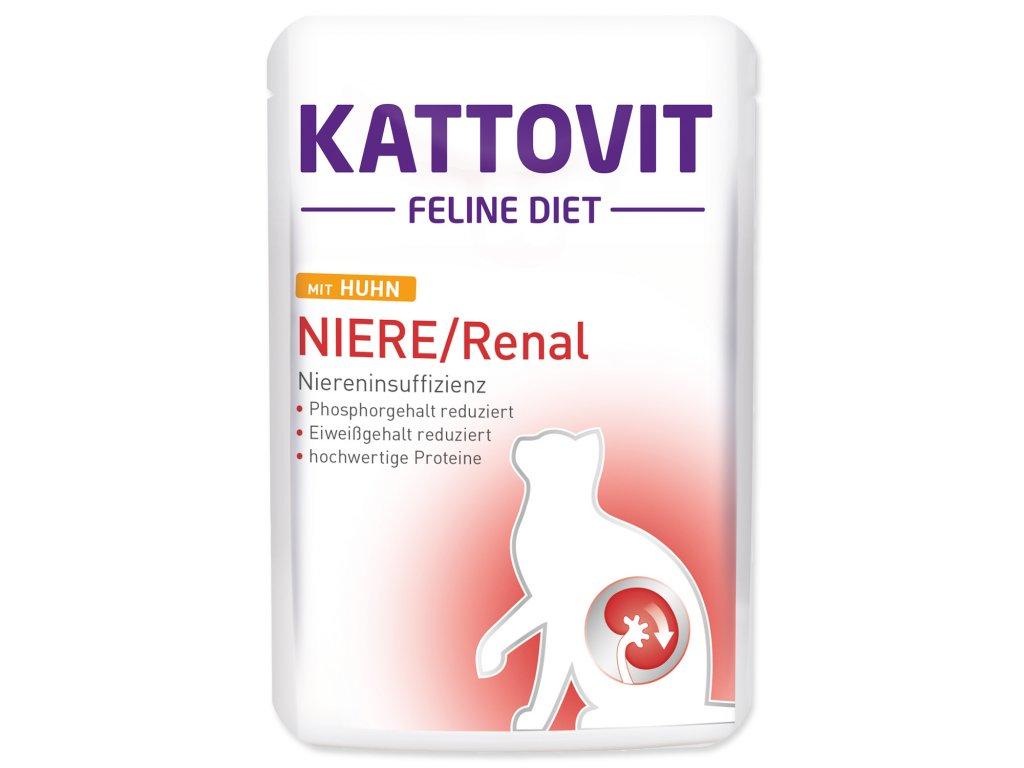 Kapsička KATTOVIT Niere / Renal kuře 85g