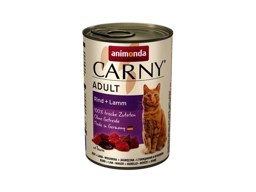 Animonda Carny Adult hovězí+jehně