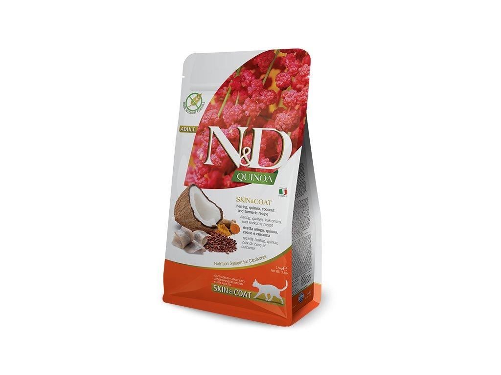 N&D Quinoa CAT Skin & Coat Herring & Coconut