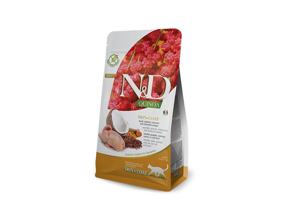 N&D Quinoa CAT Skin & Coat Quail & Coconut