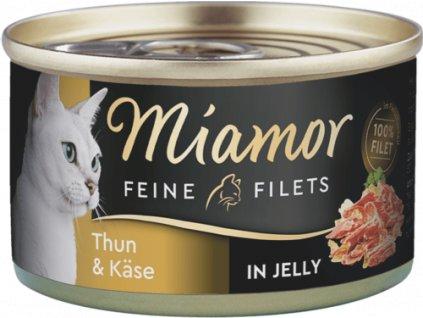 Konzerva MIAMOR Filet tuňák + sýr v želé 100g