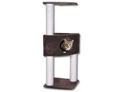 Magic Cat Odpočívadlo Irena hnědé 103 cm
