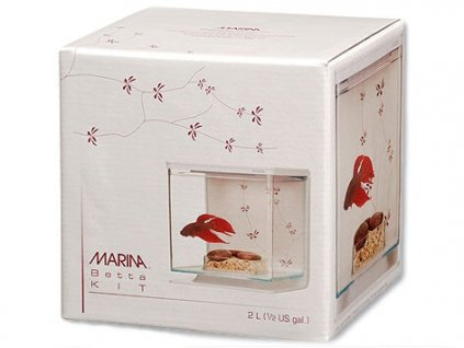 Akvárium MARINA Betta Kit Contemporary 2 l