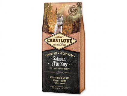 Carnilove Puppy Large Breed Salmon & Turkey