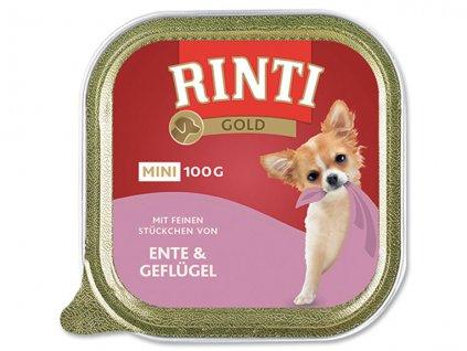 RINTI Gold Mini kachna + drůbež 100g