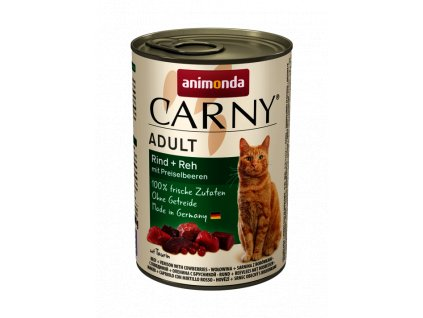 Animonda Carny Adult hovězí+srnec s brusinkami