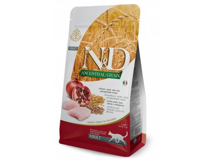 N&D LG CAT Adult Chicken & Pomegranate