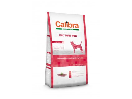 Calibra Grain Free Adult Small Breed / Duck & Potato