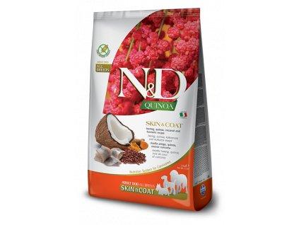 N&D GF Quinoa DOG Skin&Coat Herring & Coconut