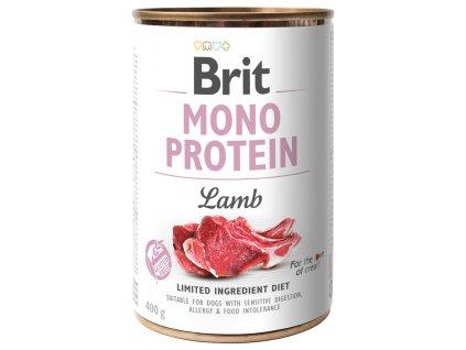 Konzerva Brit Monoprotein Lamb 400g