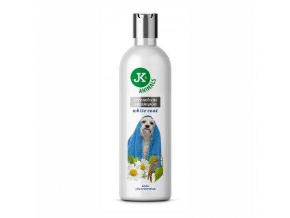 Šampon pro světlou srst se zjemňujícími účinky