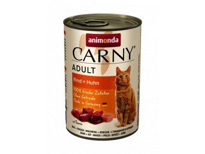 Animonda Carny Adult hovězí a kuře