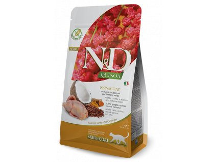 N&D Quinoa CAT Skin & Coat Quail & Coconut