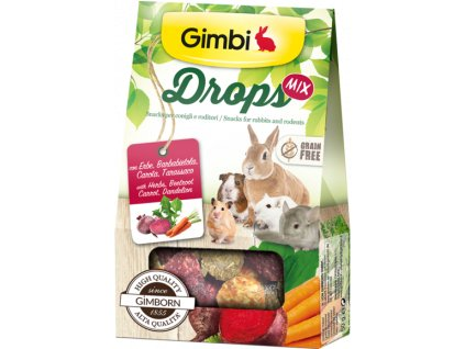 DROPS GRAIN FREE pro hlodavce mix 50g