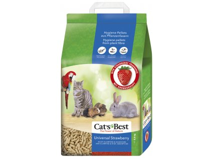 Kočkolit Cats Best Universal s jahodovou vůní 10l